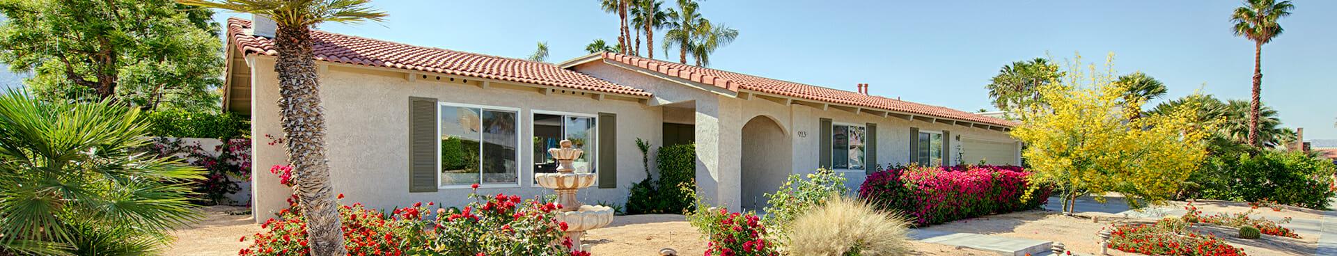 Palm Springs single family homes