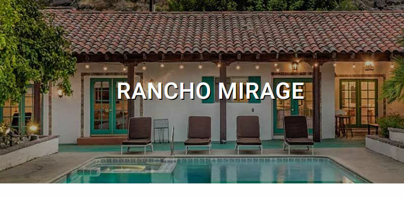 Rancho Mirage real estate for sale